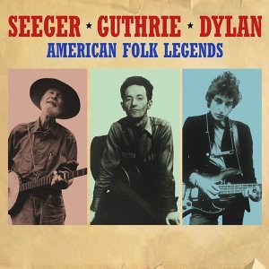 Pete Seeger, Woody Guthrie & Bob Dylan 歌手頭像