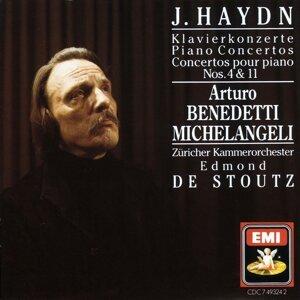 Arturo Benedetti Michelangeli/Das Zürcher Kammerorchester/Edmond de Stoutz