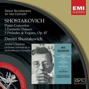 Dmitri Shostakovich/André Cluytens/Orchestre National de la Radiodiffusion Française/Ludovic Vaillant 歌手頭像