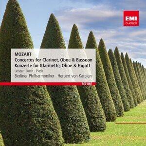 Herbert von Karajan/Karl Leister/Lothar Koch/Gunter Piesk 歌手頭像