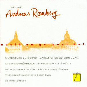 Thüringen Philharmonie Gotha, Hermann Breuer, Antje Weithaas, Anke Hoffmann & Suhler Singakademie 歌手頭像