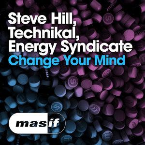 Steve Hill, Technikal, Energy Syndicate 歌手頭像