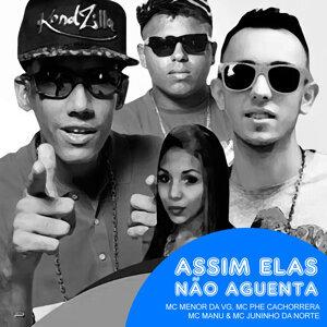 Mc Menor da VG, Mc Phe Cachorrera, Mc Manu & Mc Juninho da Norte 歌手頭像