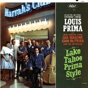 Louis Prima with Gia Maione and Sam Butera and the Witnesses 歌手頭像