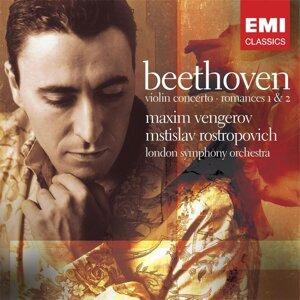 Maxim Vengerov/London Symphony Orchestra/Mstislav Rostropovich 歌手頭像