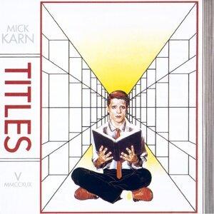 Mick Karn 歌手頭像