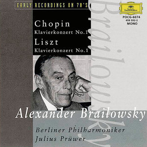Alexander Brailowsky [Piano] Berliner Philharmoniker [Orchestra] Julius Pruwer [Conductor] 歌手頭像