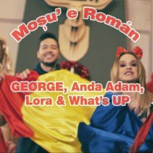 GEØRGE,  Anda Adam,  Lora, What's UP 歌手頭像