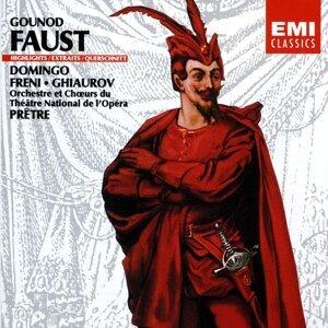 Placido Domingo/Mirella Freni/Nicolai Ghiaurov/Georges Prêtre 歌手頭像