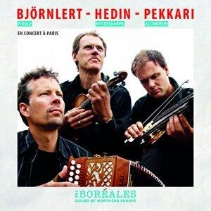 Pelle Björnlert, Johan Hedin, Erik Pekkari 歌手頭像