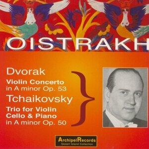 David Oistrakh, Sviatoslav Knushevitzky, Lev Oborin 歌手頭像