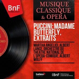 Martha Angelici, Albert Lance, Orchestre du Théâtre National de l'Opéra-Comique, Albert Wolff 歌手頭像