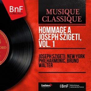 Joseph Szigeti, New York Philharmonic, Bruno Walter 歌手頭像