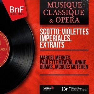Marcel Merkès, Paulette Merval, Annie Dumas, Jacques Météhen 歌手頭像