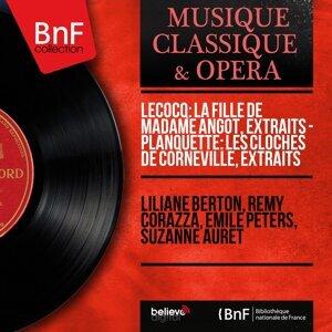 Liliane Berton, Rémy Corazza, Émile Peters, Suzanne Auret 歌手頭像
