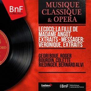 Géori Boué, Roger Bourdin, Colette Riedinger, Bernard Alvi 歌手頭像