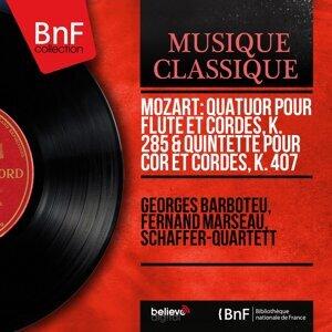 Georges Barboteu, Fernand Marseau, Schäffer-Quartett 歌手頭像