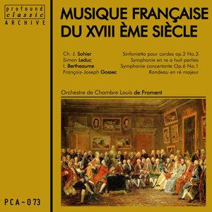 Orchestre de Chambre Louis de Froment 歌手頭像