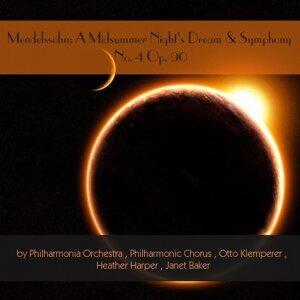 Philharmonic Chorus, Otto Klemperer, Heather Harper, Janet Baker, Philharmonia Orchestra 歌手頭像