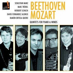 Mozart - Beethoven, Herbert Schuch, Sebastian Manz, Marc Trenel, David Fernandez Alonso, Ramon Ortega Quero 歌手頭像