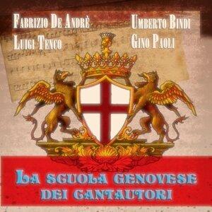Gino Paoli, Luigi Tenco, Fabrizio De Andrè, Umberto Bindi 歌手頭像