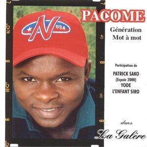 Pacome 歌手頭像