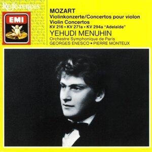 Yehudi Menuhin/Orchestre Symphonique de Paris/George Enescu/Pierre Monteux 歌手頭像