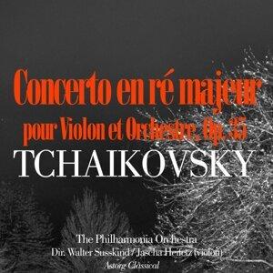 The Philharmonia Orchestra, Walter Susskind, Jascha Heifetz 歌手頭像