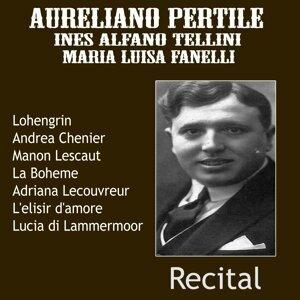 Aureliano Pertile, Ines Alfano Tellini, Maria Luisa Fanelli, Orchestra del Teatro alla Scala, Carlo Sabajno 歌手頭像