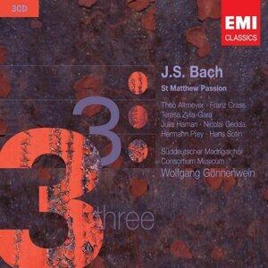 Wolfgang Gönnenwein/Süddeutscher Madrigalchor/Consortium Musicum/Soloists 歌手頭像