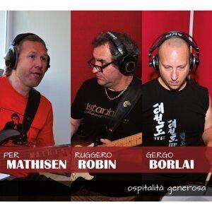 Per Mathisen, Ruggero Robin, Gergo Borlai 歌手頭像