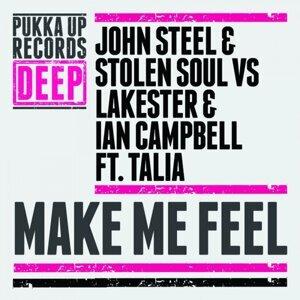 John Steel, Stolen Soul, Lakester, Ian Campbell 歌手頭像
