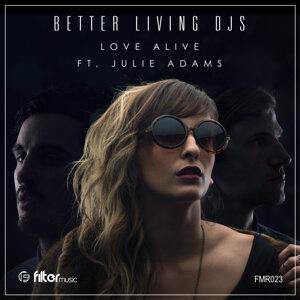 Better Living DJs featuring Julie Adams 歌手頭像
