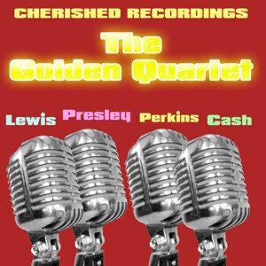 Carl Perkins , Elvis Presley & Jerry Lee Lewis, Elvis Presley, Carl Perkins, Jerry Lee Lewis 歌手頭像
