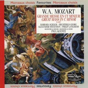 Orchestre & chorale Paul Kuentz, Barbara Schlick, Mechthild Georg, Alexander Stevenson, Philip Langshaw 歌手頭像