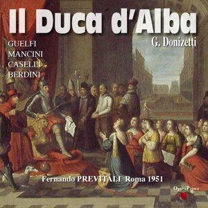 Coro della Rai di Roma, Orchestra Sinfonica della Rai di Roma, Fernando Previtali, Aldo Bertocci, Nestore Catalani 歌手頭像