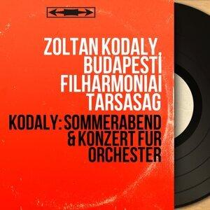 Zoltán Kodály, Budapesti Filharmóniai Társaság 歌手頭像