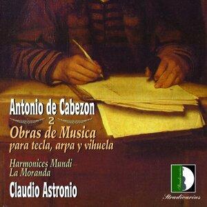 Harmonices Mundi, La Moranda, Cladio Astronio 歌手頭像
