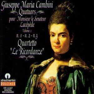 Quartetto Le Ricordanze 歌手頭像