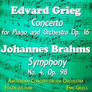 Amsterdam Concertgebouw Orchestra, Eugen Jochum, Emil Gilels 歌手頭像
