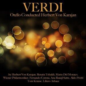 Wiener Philharmoniker, Herbert von Karajan, Mario Del Monaco, Aldo Protti, Tom Krause, Renata Tebaldi, Libero Arbace, Fernando Corena, Ana Raul Satre 歌手頭像