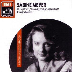 Sabine Meyer/ Staatskapelle Dresden/ Blomstedt/Trio di Clarone/ Wolfgang Meyer/ Württembergisches Kammerorchester Heilbronn/ Faerber/ Tabea Zimmermann/ Hartumt Höll 歌手頭像