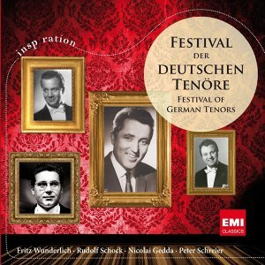 Fritz Wunderlich/Rudolf Schock/Nicolai Gedda/Peter Schreier 歌手頭像