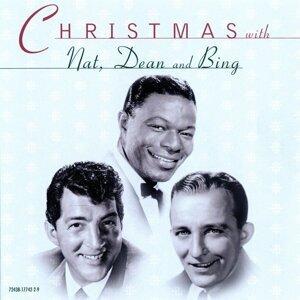 Bing Crosby / Nat King Cole / Dean Martin 歌手頭像