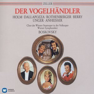 Anneliese Rothenberger/Adolf Dallapozza/Walter Berry/Renate Holm /Gerhard Unger/Wolfgang Anheisser /Jürgen Förster /Karl Dönch /Chor der Wiener Staatsoper in der Volksoper/Wiener Symphoniker/Willi Boskovsky 歌手頭像