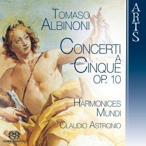 Harmonices Mundi, Claudio Astronio 歌手頭像