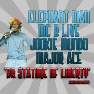 Elephant Man, MC B Live, Jookie Mundo, Major Ace 歌手頭像