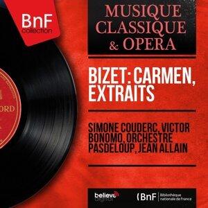 Simone Couderc, Victor Bonomo, Orchestre Pasdeloup, Jean Allain 歌手頭像