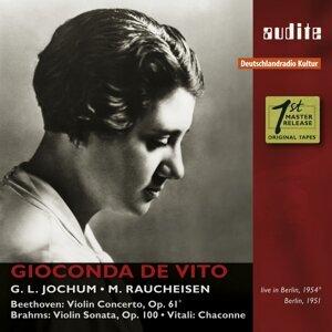 Gioconda de Vito, Michael Raucheisen, RIAS-Symphonie-Orchester & Georg Ludwig Jochum 歌手頭像