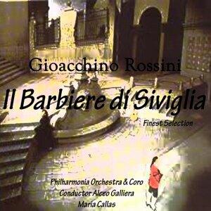 Philharmonia Orchestra, Alceo Galliera, Mario Carlin, Philharmonia Chorus, Roberto Benaglio, Luigi Alva 歌手頭像